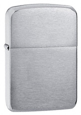 1941 Anitque Replica Brushed Chrome Zippo Lighter