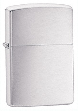 Armor Brushed Chrome Zippo Lighter