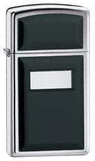 Slim Ultralite Black Zippo Lighter