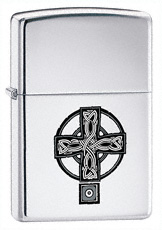 Celtic Cross Zippo Lighter