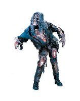 Zombie 3D Adult Costume - Standard One-Size