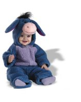 Disney Baby Eeyore Plush Bodysuit Infant - Toddler Costume