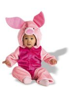 Disney Baby Piglet Plush Bodysuit Infant - Toddler Costume