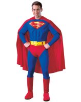Superman Deluxe Adult Costume - Large
