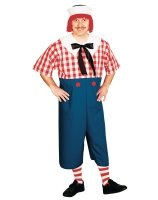 Raggedy Andy Adult Plus Costume - Plus (up to 48)