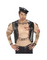 Macho Biker Man Adult Costume