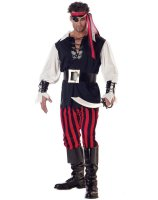 Cutthroat Pirate Adult Costume - X-Large