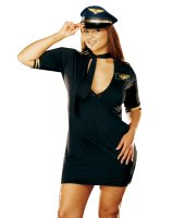 Mile High Captain Adult Plus Costume