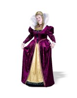Elizabethian Queen Adult Plus Costume - Plus