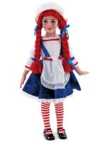 Yarn Babies Rag Doll Girl Toddler - Child Costume - Small