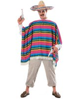 Mexican Serape Adult Costume - Standard One-size