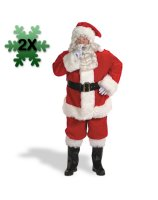 Professional Santa Suit 58-62 Costume - 58-62