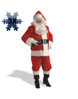 Kris Kringle Suit 3X Costume - 3X