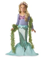 Lil' Mermaid Toddler - Child Costume - Medium (8-10)