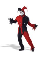 Vile Jester Adult Costume - Medium