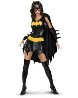 Batgirl Deluxe Adult Costume - Small