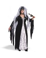 Coffin Bride Adult Plus Costume