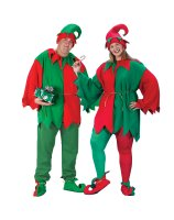 Classic Elf Adult Plus Costume - Plus
