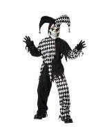 Evil Jester Child Costume - Large