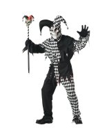 Evil Jester Adult - Medium