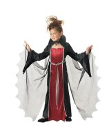 Vampire Girl Child Costume - Plus (8-10)