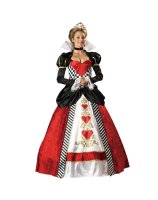 Queen of Hearts Elite Collection Adult Costume - Small