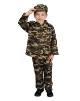 Military Officer Toddler - Child Costume - Medium (8-10)