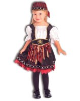 Lil' Pirate Cutie Toddler - Child Costume - Toddler (2T-4T)