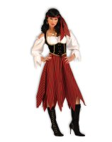 Pirate Maiden Adult Costume - Standard One Size