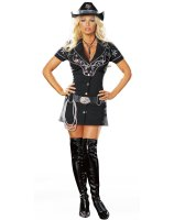 Rhinestone Cowgirl Sexy Adult - Medium