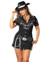 Rhinestone Cowgirl Sexy Adult Plus Costume
