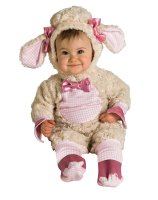 Pink Lamb Infant Costume - 6-12 Months