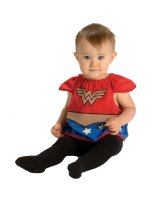 Wonder Woman Bib Newborn Costume - Newborn