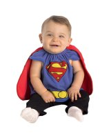 Superman Bib Newborn Costume