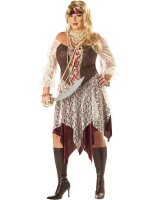 South Seas Siren Adult Plus Costume - Plus