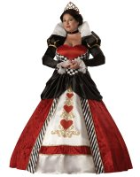 Queen of Hearts Elite Collection Adult Plus Costume - XXL