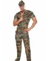 Sergeant In Arms Adult Costume - Small/Medium