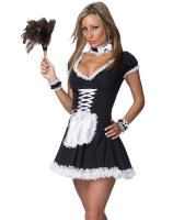 Chamber Maid Sexy Adult Costume - Small/Medium