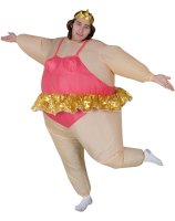 Inflatable Ballerina Adult Costume - One-Size