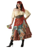 Fortune Teller Elite Collection Adult Plus Costume - XX-Large