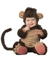 Lil' Monkey Elite Collection Infant - Toddler Costume
