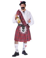 Big Shot Scot Adult Plus Costume - Plus