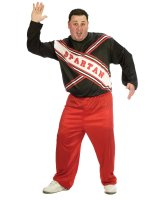 SNL Spartan Cheerleader Male Adult Plus Costume - Plus