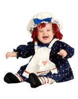 Yarn Babies Ragamuffin Dolly Infant - Toddler Costume - Small
