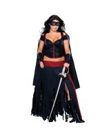 Lady Zorro Adult Plus Costume - Plus
