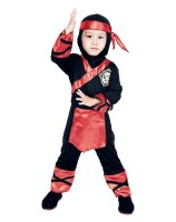 Fire Ninja Toddler Costume