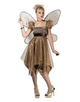 Metallic Copper Fairy Teen Costume
