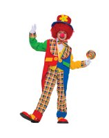Clown Around Town Child Costume - Medium (8-10)