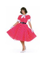50's Housewife Adult Costume - Standard (One-Size)