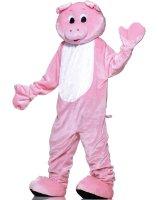 Pig Plush Economy Mascot Adult Costume - One-Size